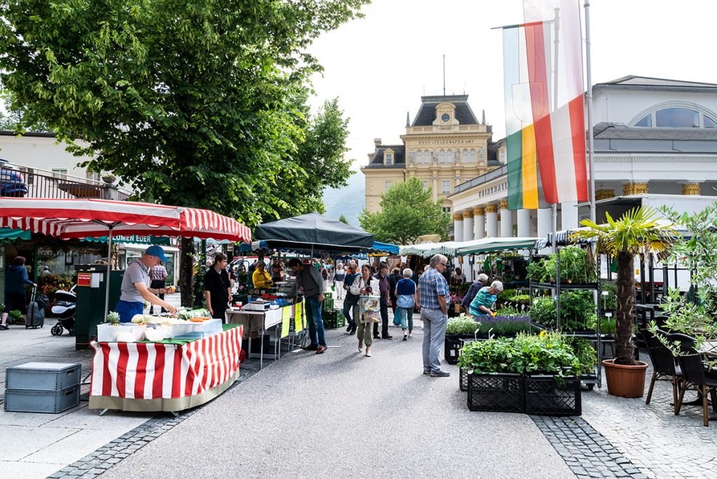 Wochenmarkt Bad Ischl