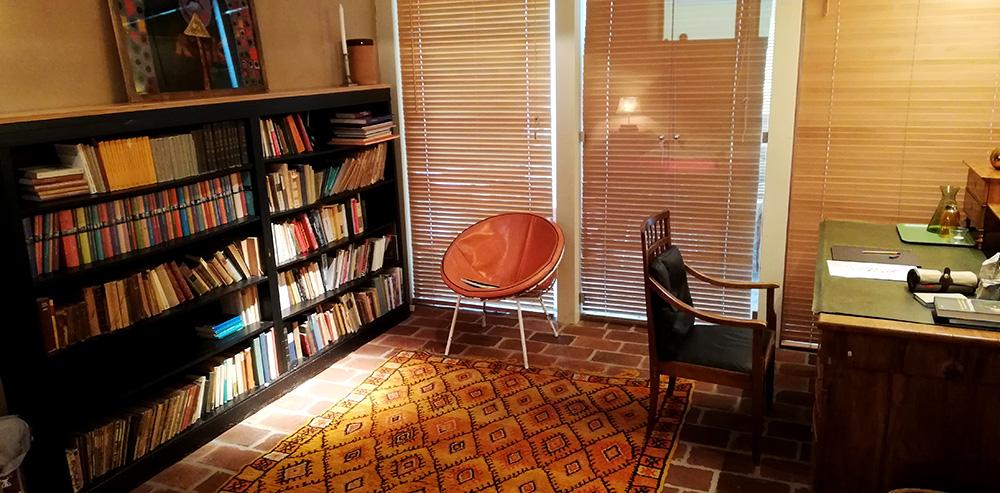 Bücherzimmer im Kulturgut Höribach in Mondsee