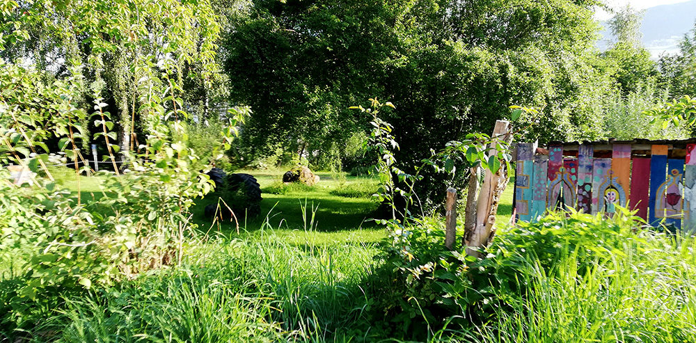 Garten am Kulturgut Höribach in Mondsee