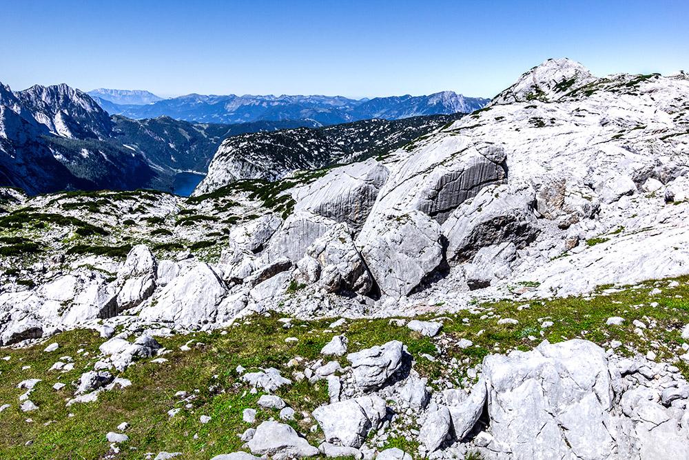 Ausblick vom Dachsteingletscher