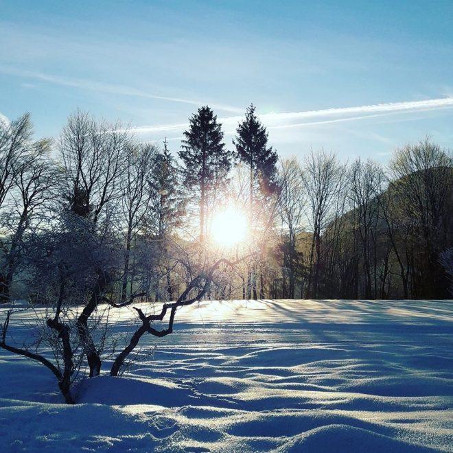 Winterwanderung-Golfplatz