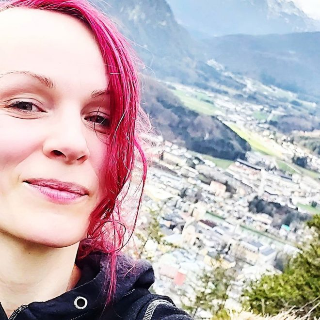 mOnA am Jainzenberg, mit Blick auf Bad Ischl