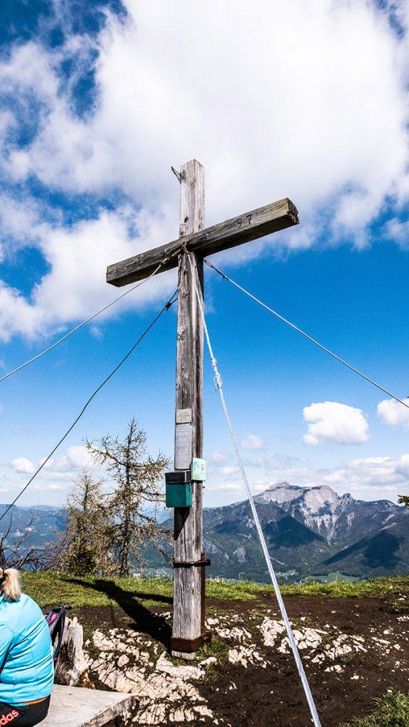 Gipfelkreuz Bleckwand 1.516 m
