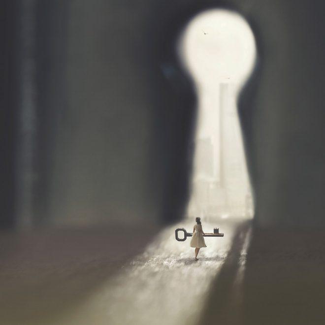DU hast den Schlüssel in der Hand